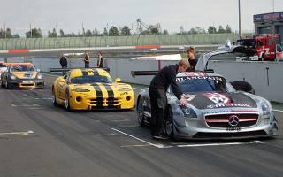 Norbert Janz im Mercedes SLS AMG GT3