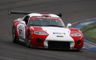 Timo Scheibner fuhr erstmals mit seiner Viper GTS-R