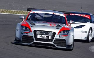 Berthold Gruhn kommt im Audi TT RS immer besser zurecht