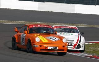 Georg Vetter und Ed van Heusden kämpften in der Porsche-Klasse