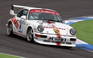 In der Porsche-Klasse war Alexandra Irmgartz einmal siegreich