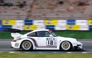 Jan van Es mit seinem Porsche 993 GT2
