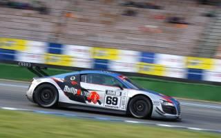 Maximilian Stein überzeugte bei ersten Auftritt im neuen Audi R8