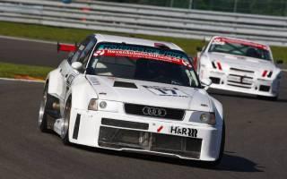 Audi-Pilot Joachim Duscher liegt auf Rang drei