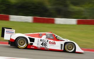 Klaus Abbelen fuhr im 962 auf Pole