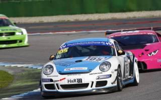 Einen Porsche Cayman fährt Sven Schneider