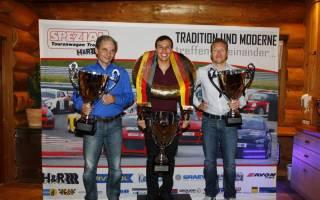 Die Top Drei der STT 2017 Uli Becker Oscar Tunjo und René Freisberg