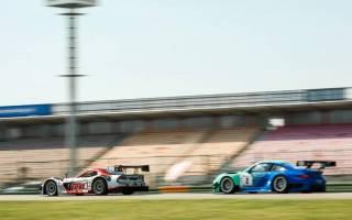 Lange wehrte sich Henk Thuis (Pumaxs RT) gegen Ulrich Becker im Porsche 997 GT3 R.