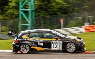 Justin Häußermann sammelte bereits Erfahrung in der STT mit einem TCR Auto