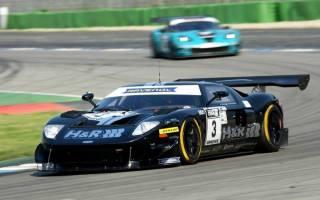 Jürgen Alzen (Ford GT) siegt vor Jürgen Bender (Chevrolet Corvette Z06.R GT3)