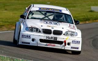 Eric Bänecke im schönen BMW 320i E46 Dritter in der Division 2