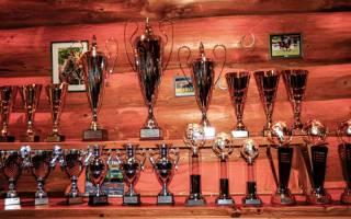 Tolle Pokale im Wert von über 4000 € gestiftet von H&R
