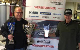 Rolf Krepschik überreichte die Pokale in Neckarsulm